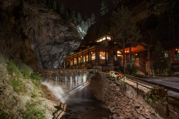 The Broadmoor 1858 Restaurant And Seven Falls In Colorado