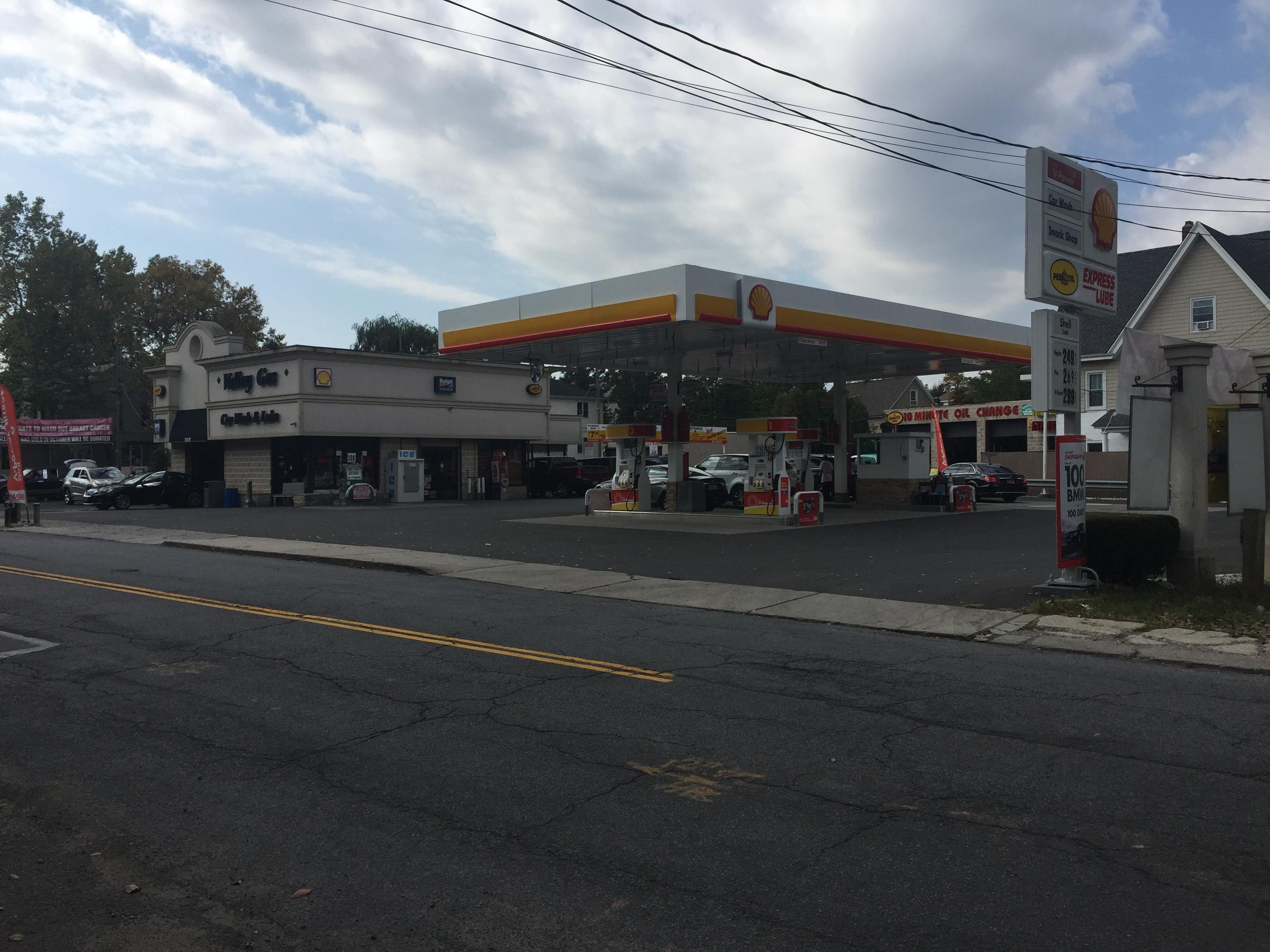 New Shell Station in Staten Island, New York City
