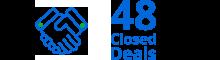 48 closed deals