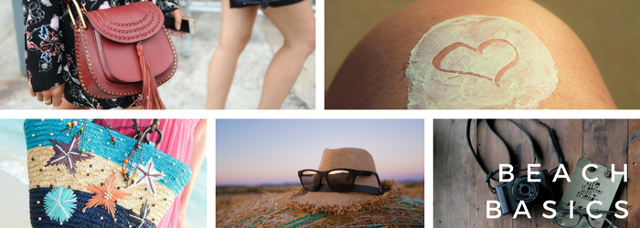 Basics to survive on the beach