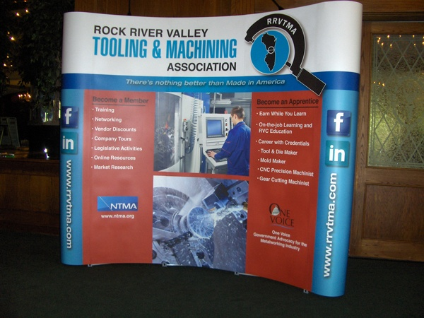 RRVTMA Trade Show Display
