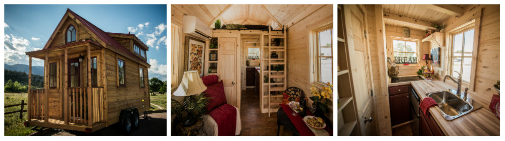 The beginners guide to build it yourself home kits tumbleweeds elm tiny home is one of many that can be purchased fully or partially built or you can purchase plans to build it yourself solutioingenieria Choice Image