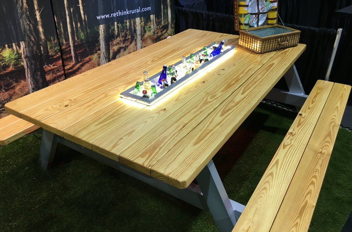 Master Craftsman Builds The Ultimate Picnic Table - Dallas cowboys picnic table