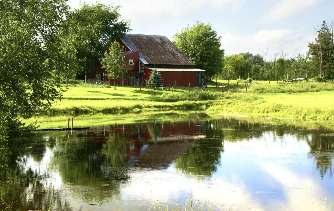 How to build a pond or lake on your property for Making a pond