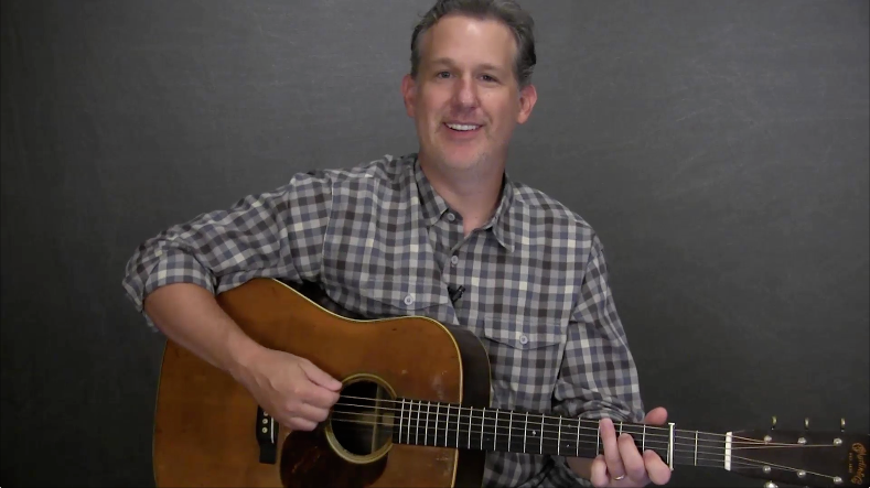 new bluegrass guitar lesson