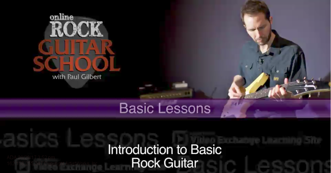rock guitar tips