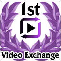 1st video exchange badge