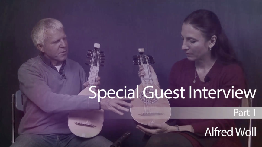caterina lichtenberg talks mandolin with alfred woll
