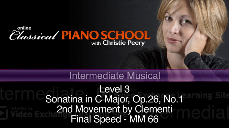 new piano lesson