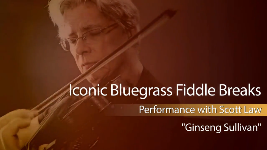 bluegrass fiddle breaks - finseng sullivan