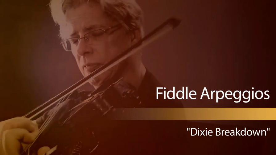 fiddle arpeggios - dixie breakdown