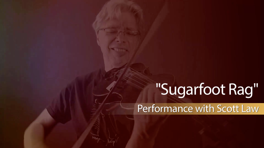 new fiddle lessons on sugarfoot rag