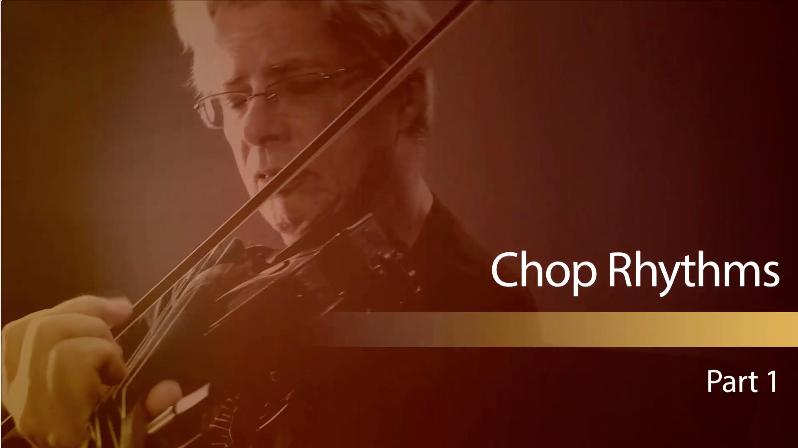 new fiddle lesson on chop rhythms