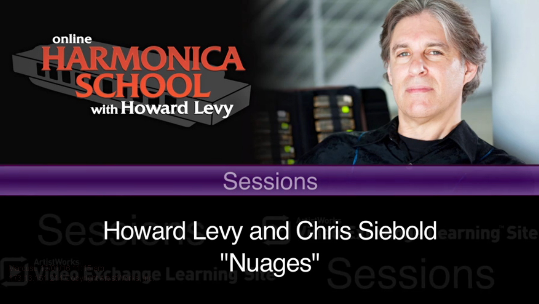 howard levy and chris siebold - nuages