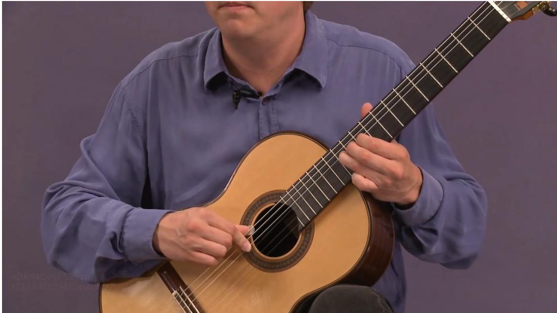 classical guitar vibrato 1