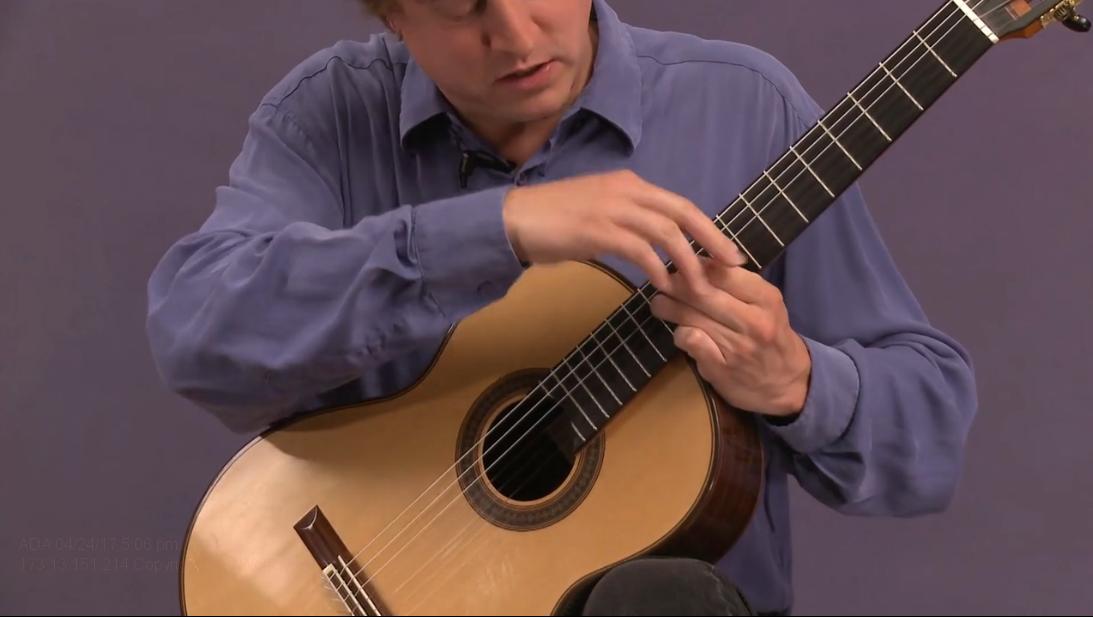 classical guitar vibrato 2