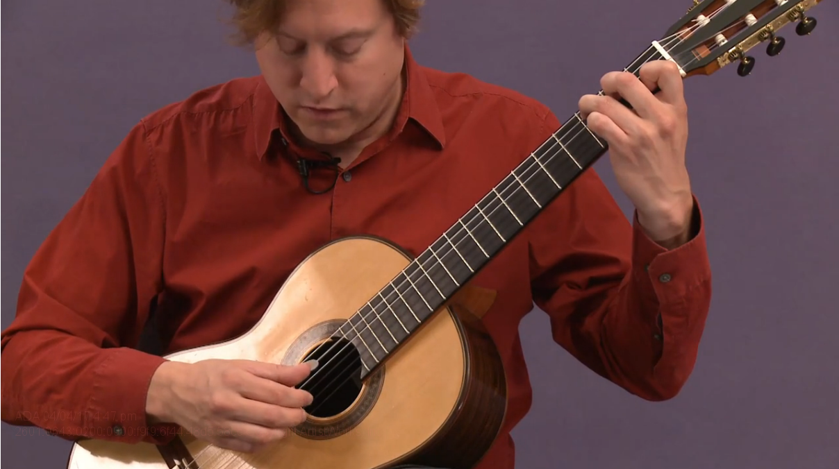 classical guitar warmups - arpeggios