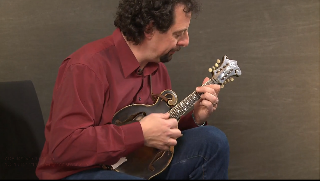 intermediate mandolin tips from mike marshall