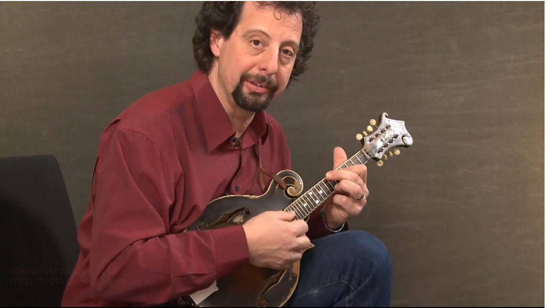 sample mandolin lessons from Mike Marshall