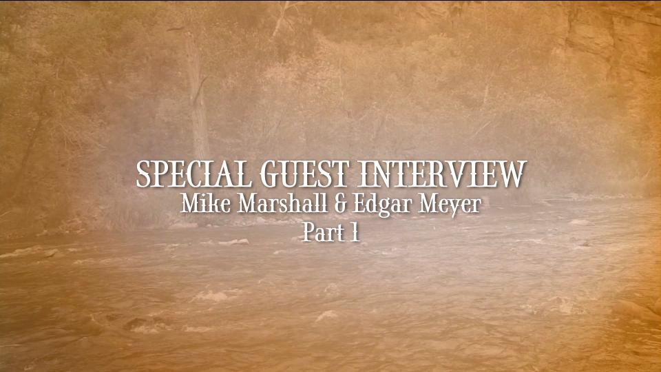edgar meyer & mike marshall interview