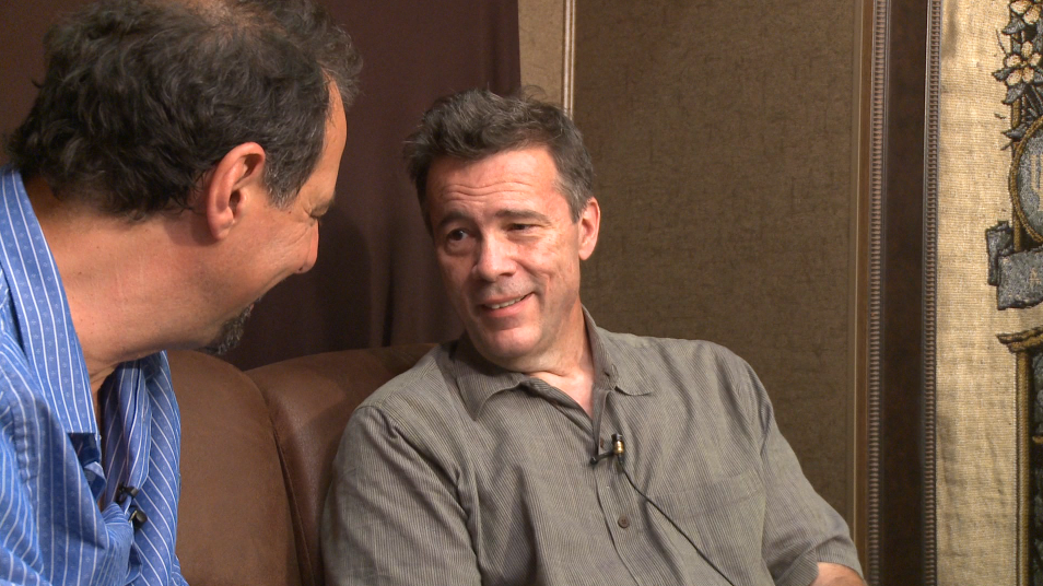 mike marshall interview with edgar meyer at RockyGrass 2016