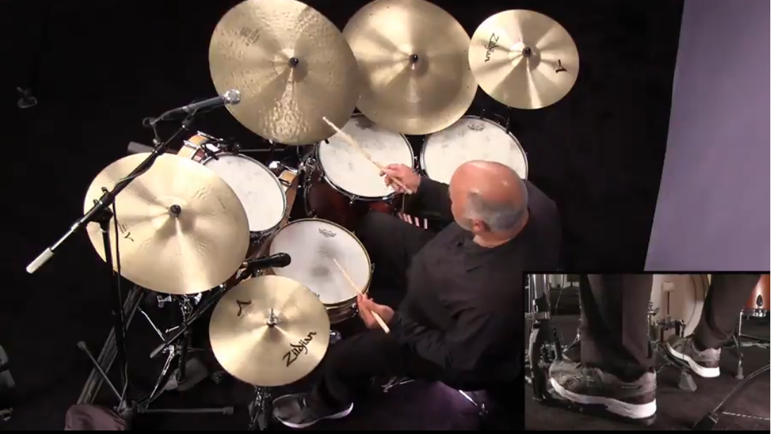 jazz drum lessons with peter erskine
