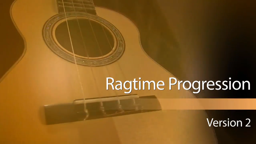 new ukulele lesson on a ragtime progression