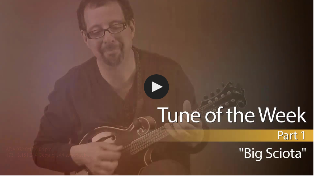 mandolin tune of the week