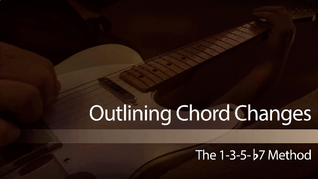 country guitar lesson on outlining chord changes