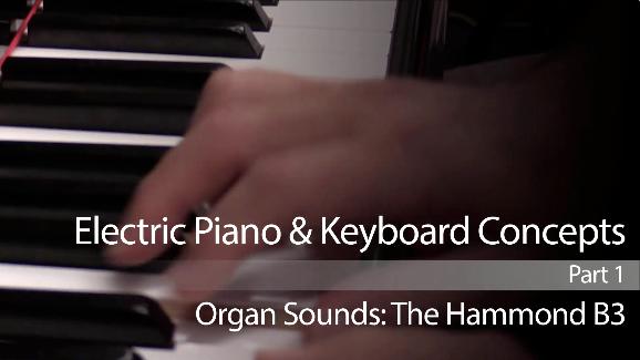 jazz keyboard lesson on the hammond b3