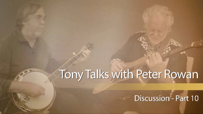 tony trischka peter rowan session