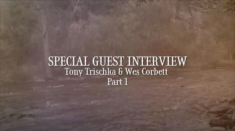 Special Guest Interview: Tony Trischka & Wes Corbett