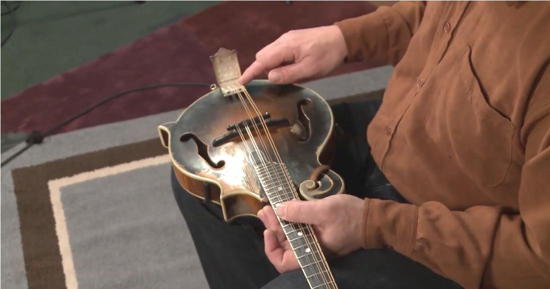 adjusting action on a mandolin