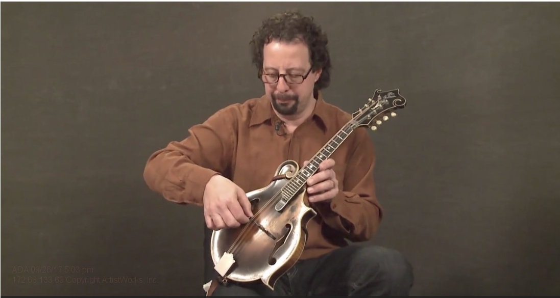 adjusting the action on mandolin
