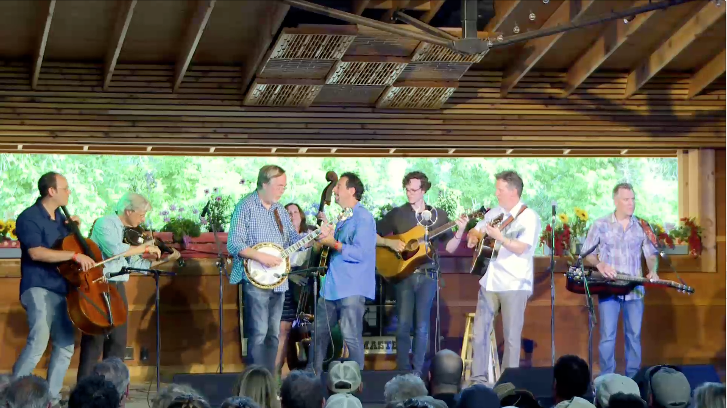bluegrass allstars live at rockygrass