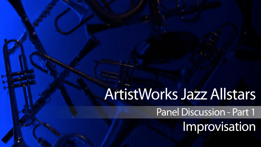 jazz panel discussion on improvisation