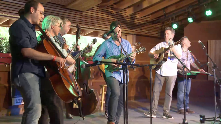 bluegrass allstars at rockygrass