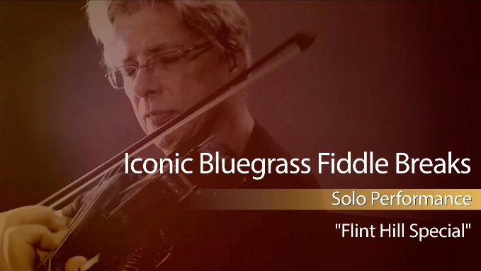 bluegrass fiddle breaks flint hill special