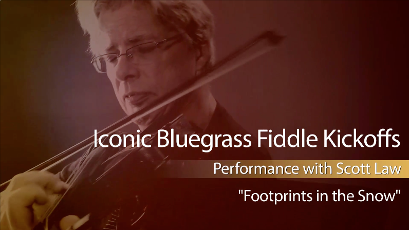 bluegrass fiddle kickoffs