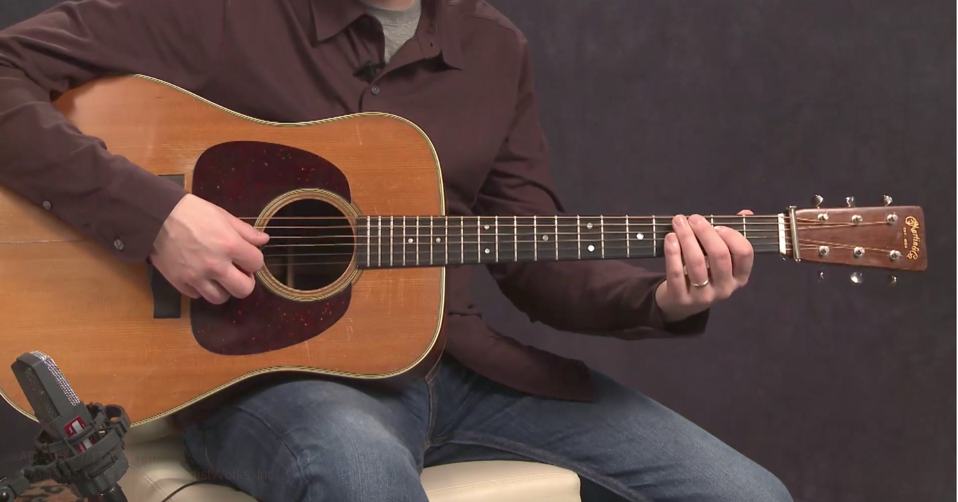 Essential Bluegrass Guitar Licks: The G Run | ArtistWorks