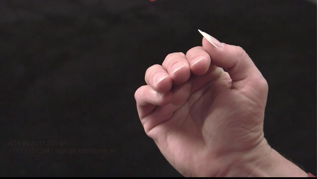 classical guitar nails 1