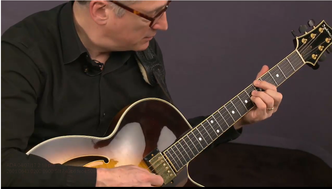 jazz guitar chords with chuck loeb