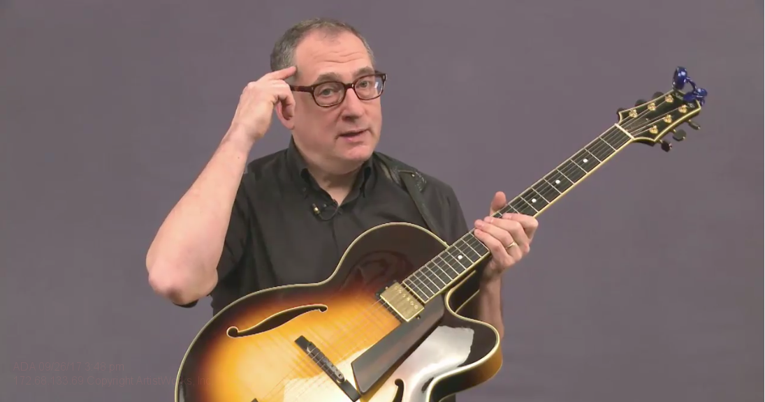 jazz guitar ear training lesson