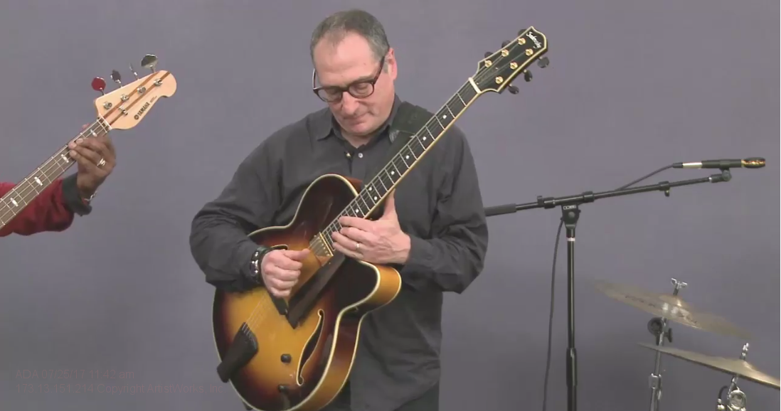 jazz guitar progressions