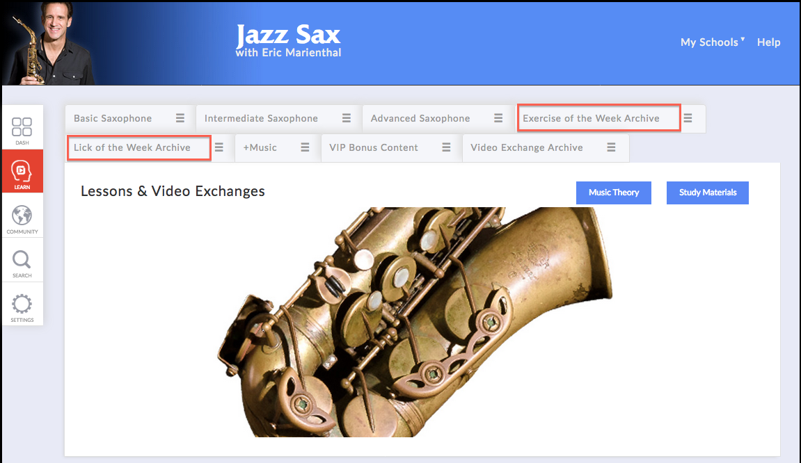jazz saxophone exercises