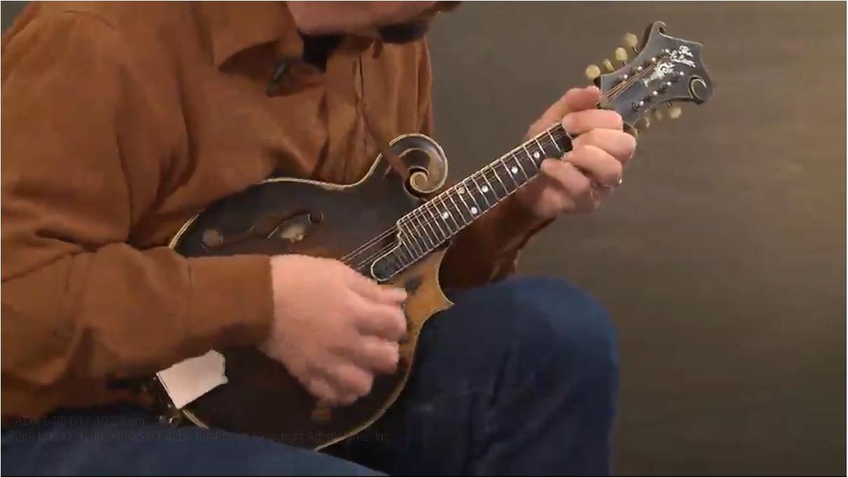 mandolin chop rhythm