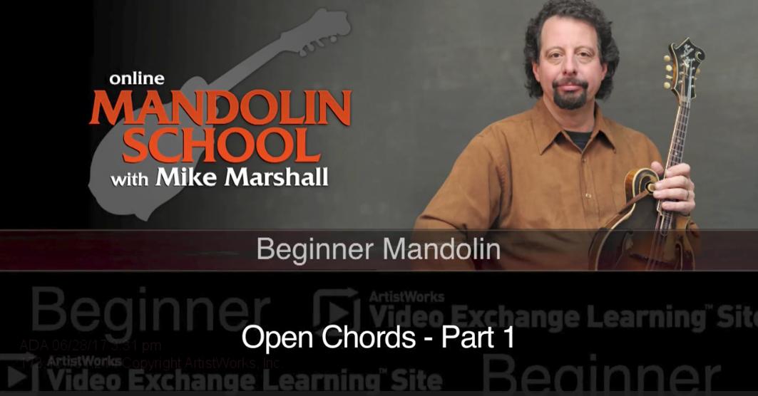 free mandolin lesson