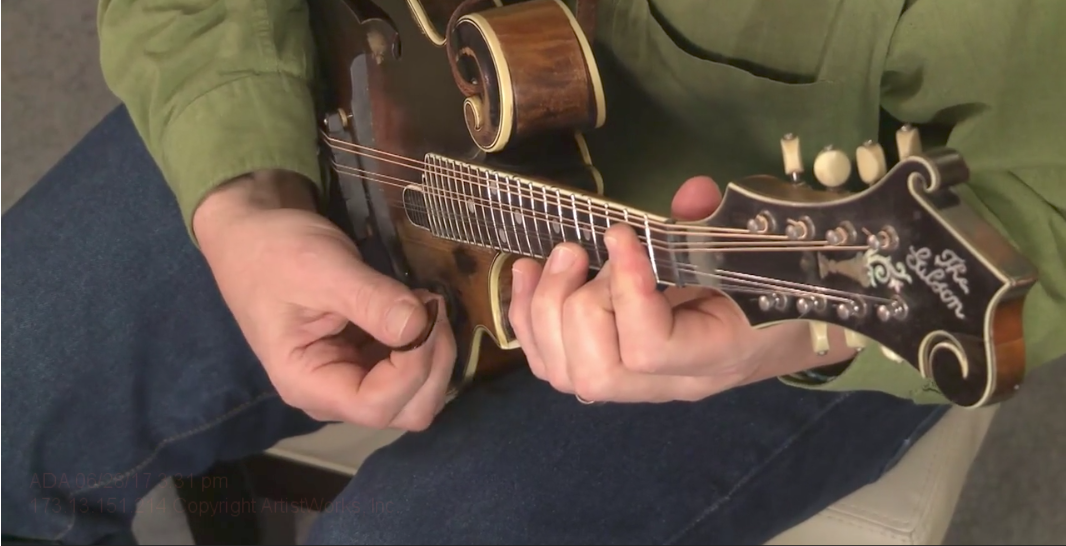 open mandolin chords