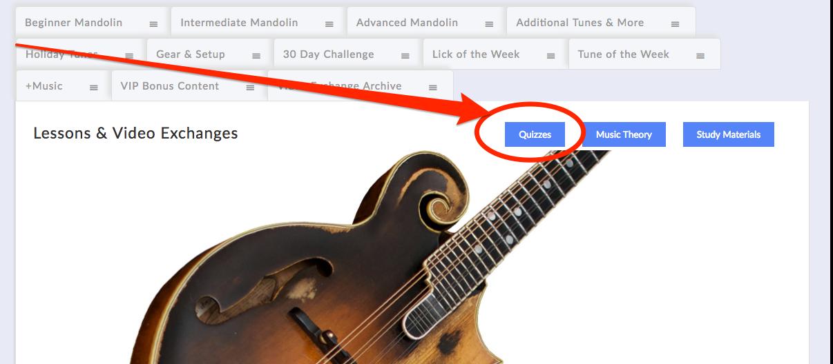 mandolin quizzes