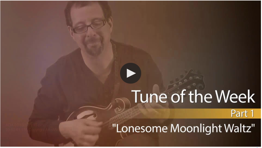 mandolin tune of the week - new section